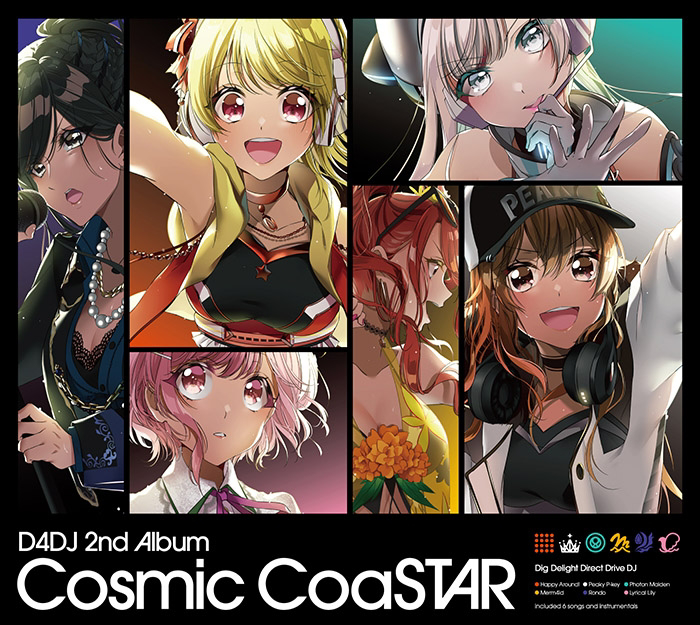[200624]D4DJ 2nd Album「Cosmic CoaSTAR」(mp3)